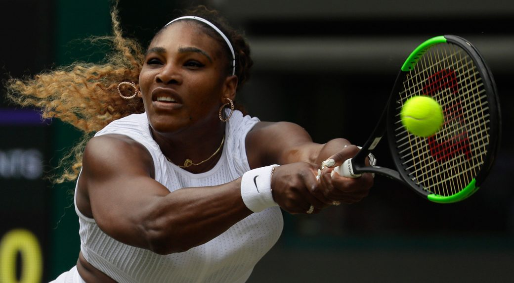 Serena Williams fined $10 000 for damaging Wimbledon court