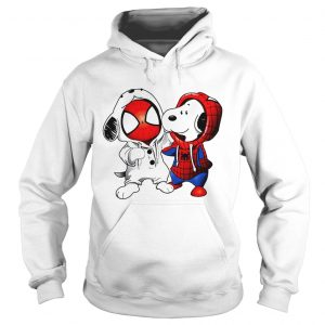 Snoopy and Spider-man Hoodie shirt