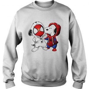 Snoopy and Spider-man Sweat shirt