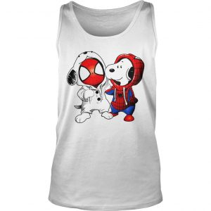 Snoopy and Spider-man Tank Top shirt