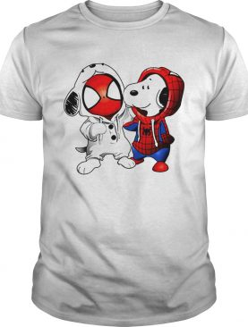 Snoopy and Spider-man t-shirt