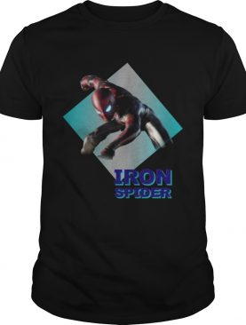 Spiderman new suit Iron Spider t-shirt