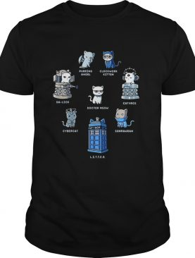 Tardis cats Doctor meow Doctor Who shirt