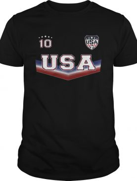The United States women's national soccer team 10 T-shirt