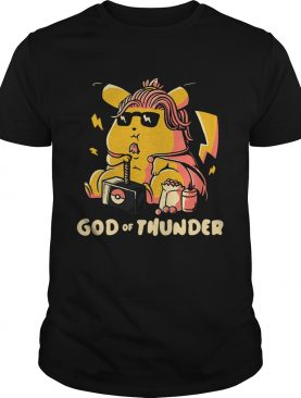 Thor style Pikachu God of Thunder Game of Thrones t-shirt