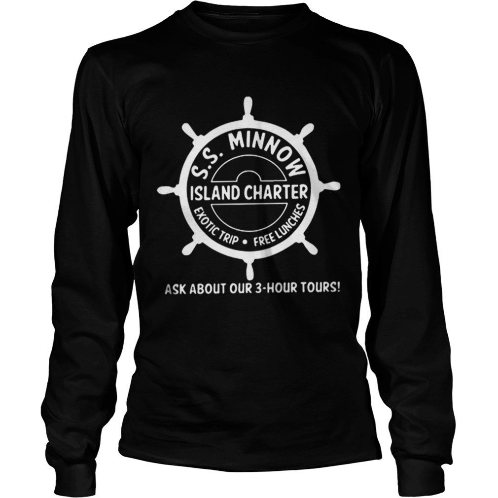 Top SS minnow Island charter exotic trip free lunches ask about our LongSleeve