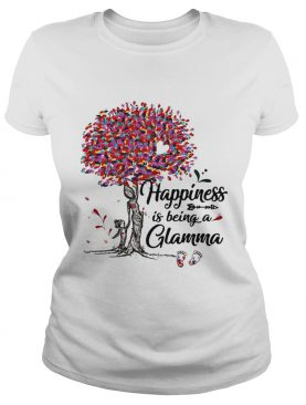 Tree happiness is being a Glamma t-shirt