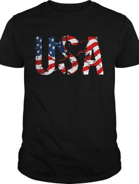 USA American Flag Independence Day t-shirt