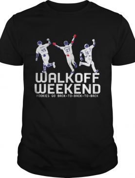 Walk Off Weekend Rookies Go Back To Back To Back T-Shirt