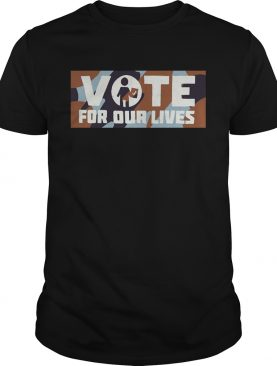Warriors Steve Kerr vote for our lives t-shirts