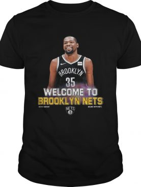 Welcome to Brooklyn Nets t-shirt