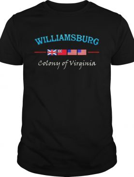 Williamsburg Virginia Colony t-shirt