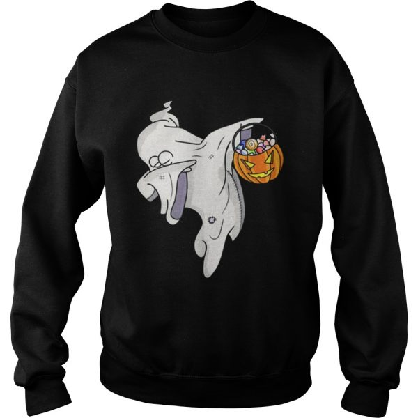 Awesome Happy Daboween Scary Ghost Halloween Dabbing Trick Dab  Sweatshirt