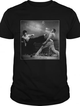 Bruce Lee vs Muhammad Ali shirt