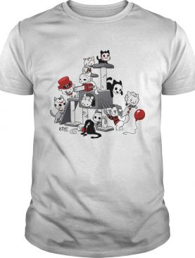 Cats horror Halloween shirt