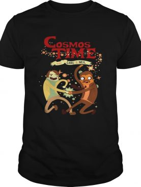 Cosmos Time with Carl and Neil shirt