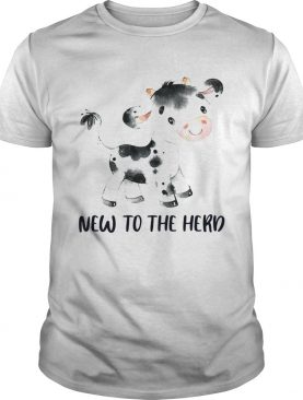 Cow new to the herd t-shirt