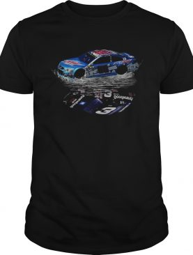 Dale Earnhardt Jr Car water mirror reflection t-shirt