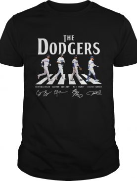 Dodgers The Dodgers Abbey road signature shirt