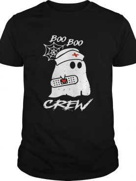 Ghost nurse boo boo crew T-shirt