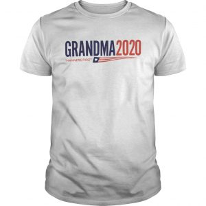 Grandma 2020 Manners first  Unisex
