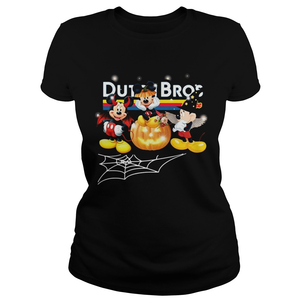 Halloween Dutch Bros coffee Mickey Mouse Classic Ladies