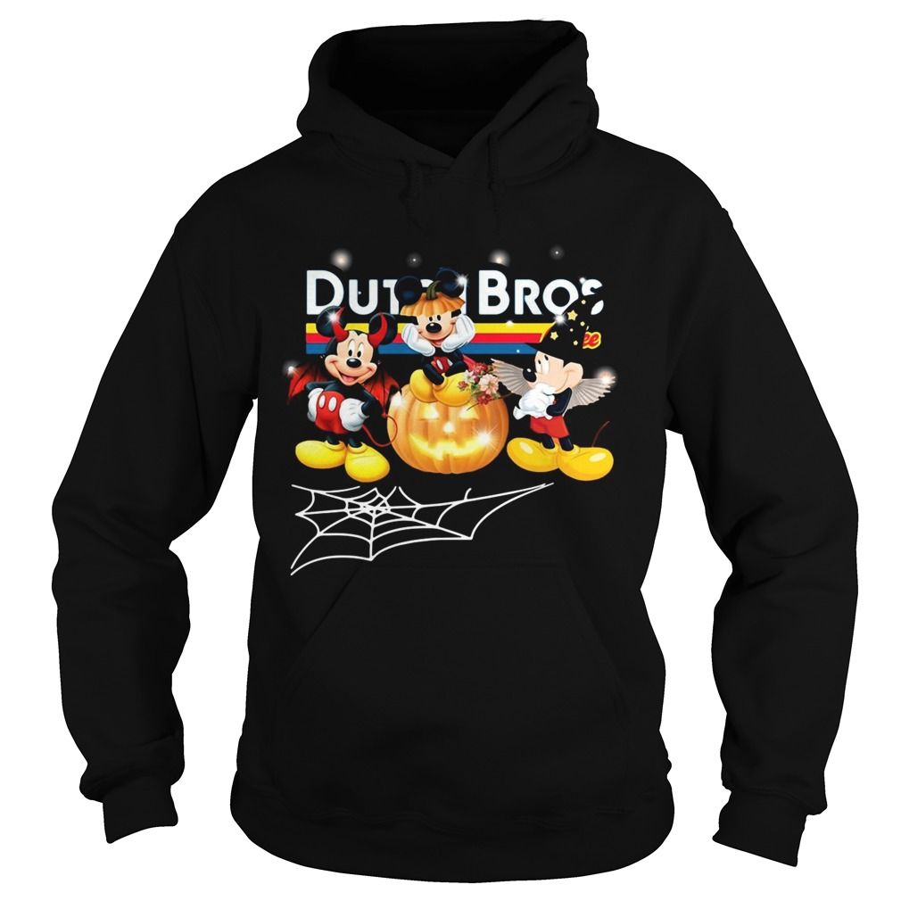 Halloween Dutch Bros coffee Mickey Mouse Hoodie