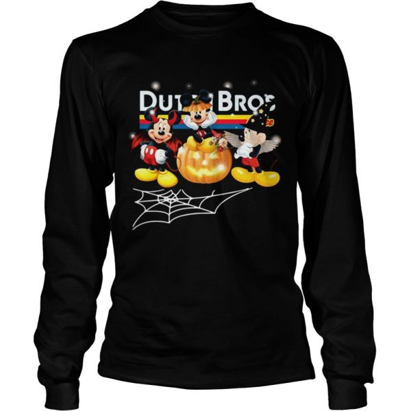 Halloween Dutch Bros coffee Mickey Mouse  LongSleeve
