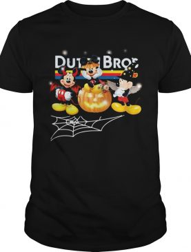 Halloween Dutch Bros coffee Mickey Mouse shirt