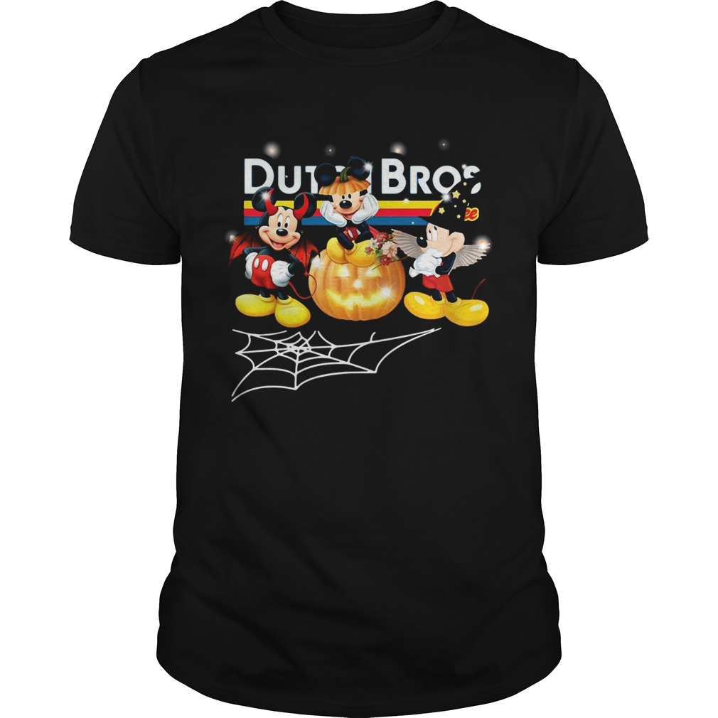 Halloween Dutch Bros coffee Mickey Mouse Unisex
