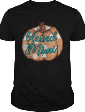 Halloween Womens Mom Blessed Mimi TShirt