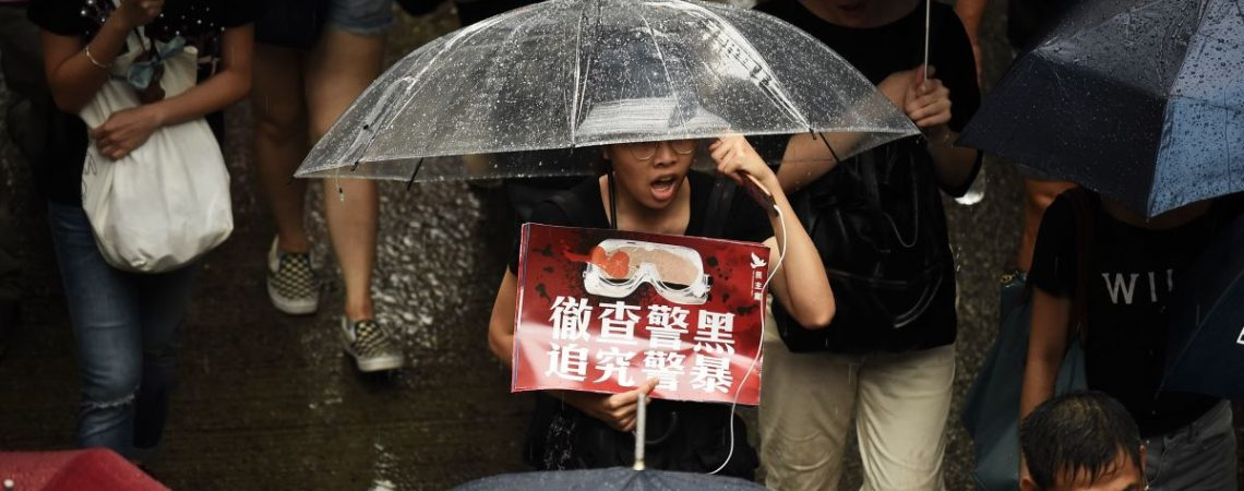 Hong Kong protesters attempt to restore peace after weeks of violence