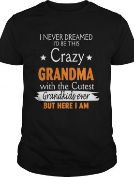 I Never Dreamed Id Be This Crazy Grandma With The Cutest Grandkids Ever TShirt