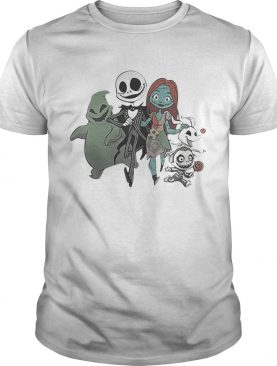 Jack Skellington and Sally and Zero Friend t-shirt