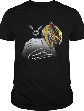 Lewis Hamilton 44 Grand Prix signature shirt