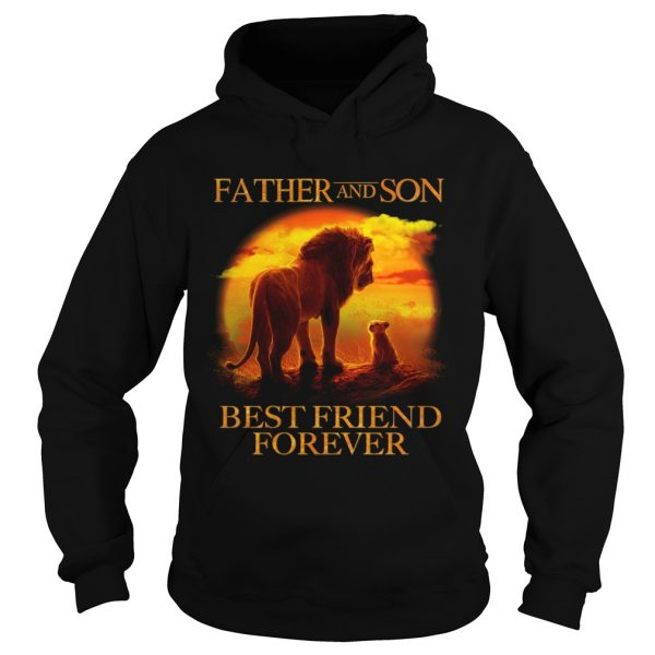Lion King Father And Son Best Friend Forever  Hoodie