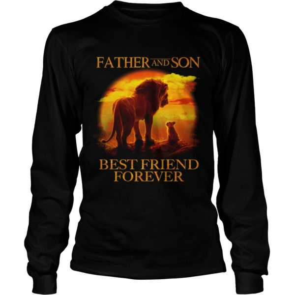 Lion King Father And Son Best Friend Forever  LongSleeve