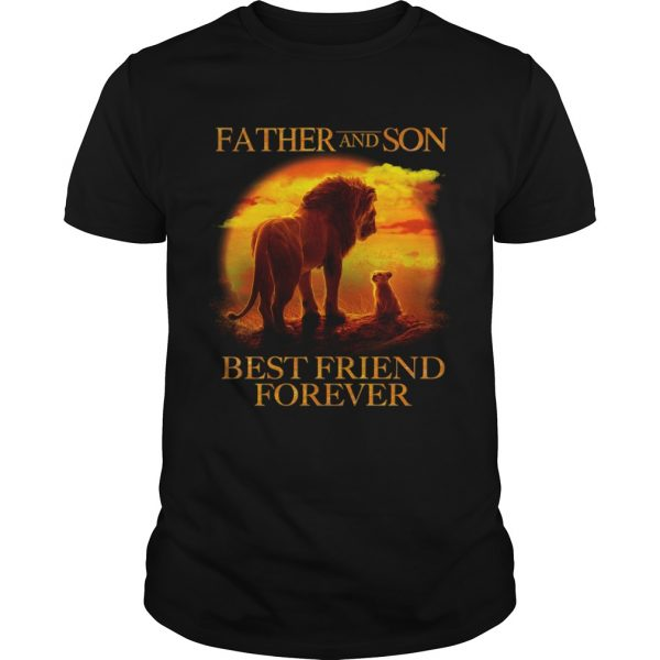 Lion King Father And Son Best Friend Forever  Unisex