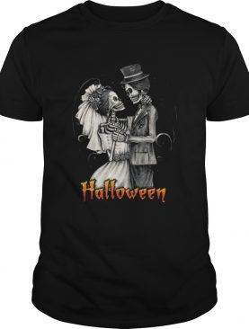 Original Halloween Wedding Day In October – Bride And Groom shirt