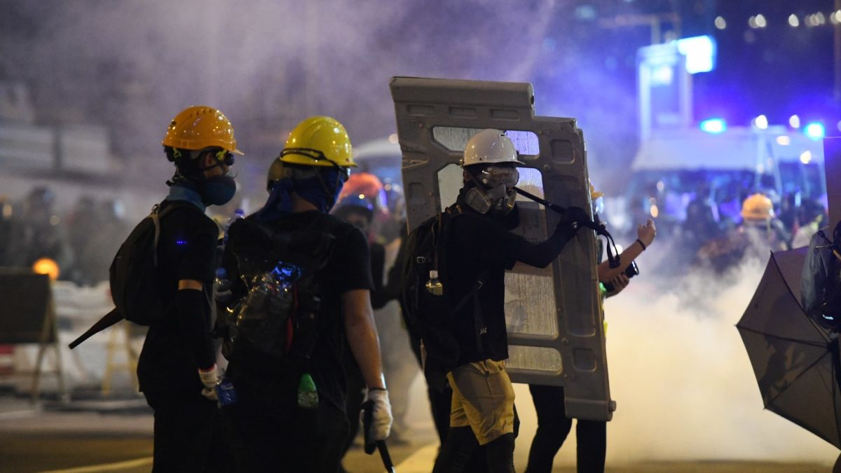 Protesters could push Hong Kong into a 'very dangerous situation' government warns