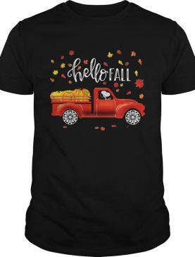 Snoopy Hello Fall shirt