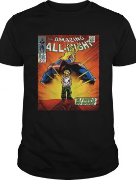 The amazing all night Boku No Hero Academia t-shirt