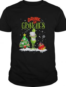 Drink up Grinches Christmas Dunkin Donuts shirt