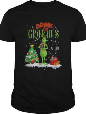 Drink up Grinches Christmas Jack Daniels shirt