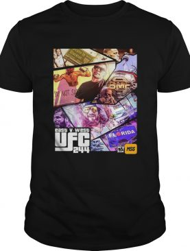 Grand Theft East V West UFC 244 shirt