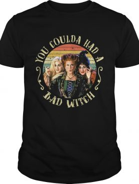 Halloween You Coulda Had A Bad Witch Movie TShirt