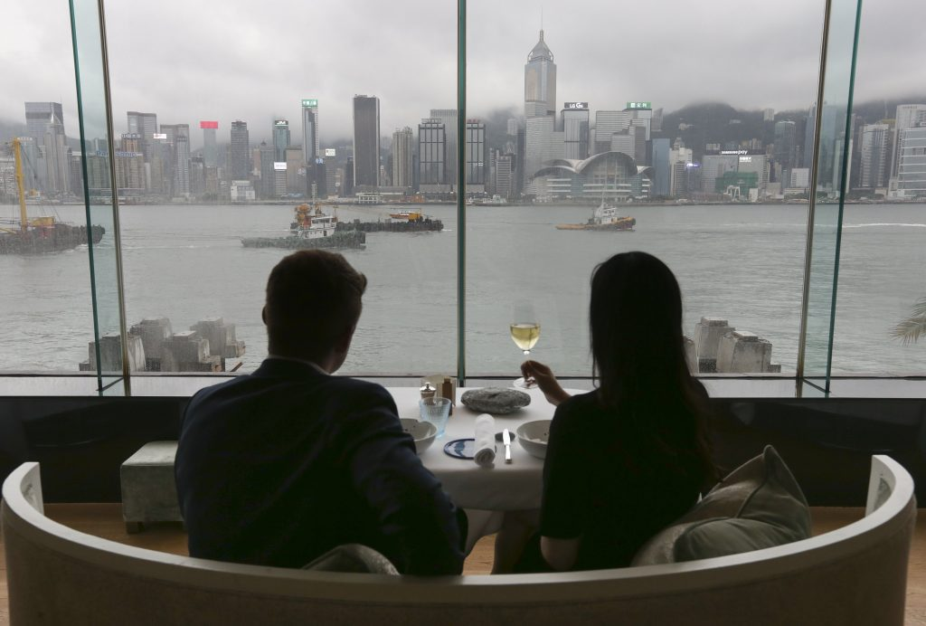 Hong Kong's protests are taking a toll on restaurant and hotel workers