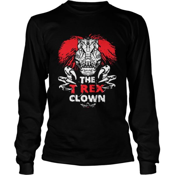 IT Pennywise The TRex Clown Shirt LongSleeve