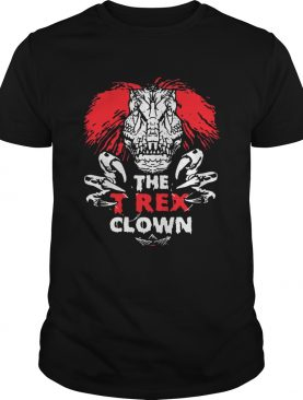 IT Pennywise The TRex Clown Shirt