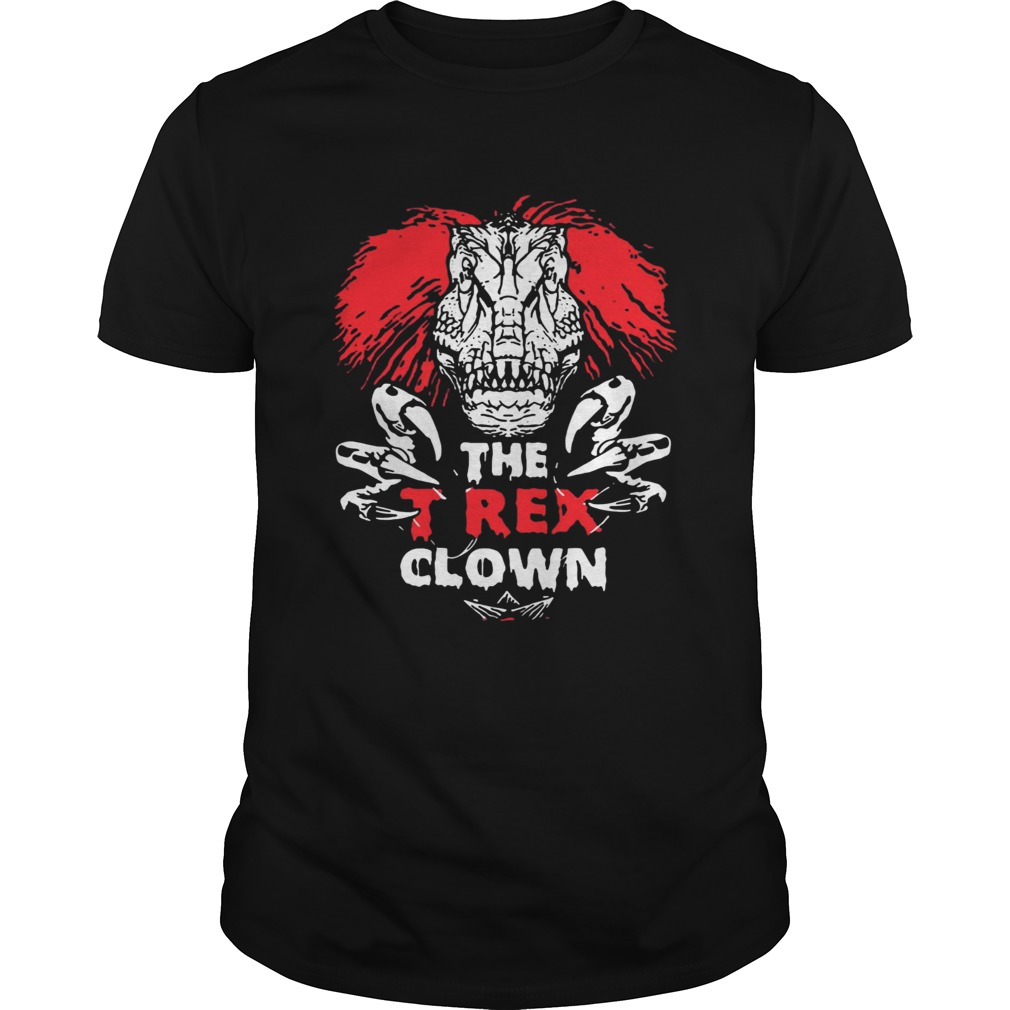 IT Pennywise The TRex Clown Shirt Unisex